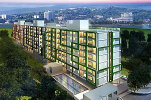 Trio Gems Condominium sea view