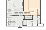 1bed layout